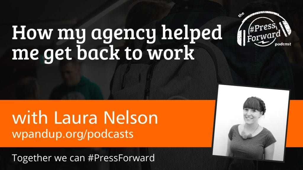 How my agency helped me get back to work #002