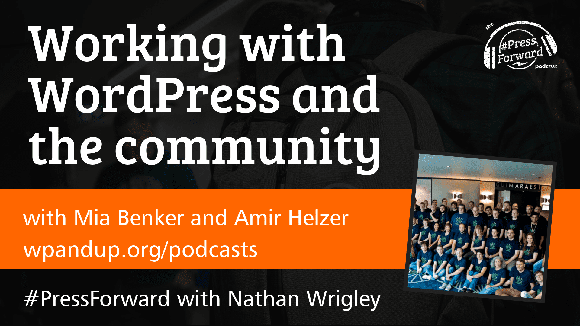 Working with WordPress and the community - #029
