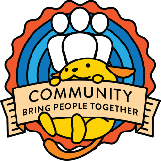 wapuu collector pin for community